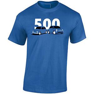 Fiat500-Classic-New-Mens-T-Shirt