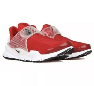 best service 77c0a 3b189 Details about NIKE SOCK DART 819686-601 gym red flyknit presto Air Max  university crimson 12