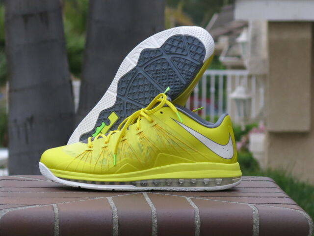 new product 6b873 ffc22 2013 Nike Max Lebron X Low Men s Basketball Shoes 579765-700 SZ 13