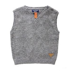NWT-Mayoral-Baby-Boy-Knit-Argyle-Diamond-V-Neck-Sweater-Vest-Size-6-Months