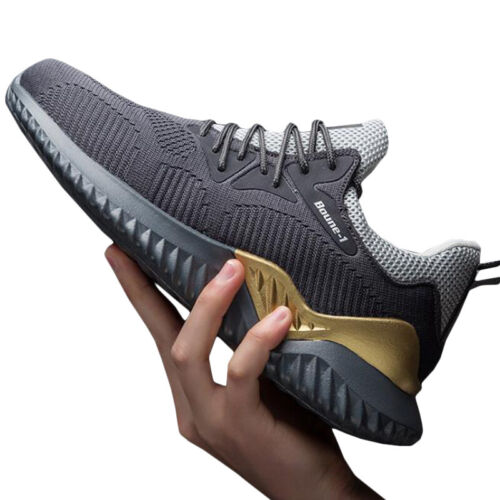Mens Trainers Slip On Casual Lace Up Sneakers Walking Running Gym Sports Shoes