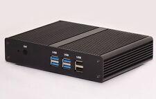 Mini PC HTPC KIT Fanless Intel Celeron N2810 2GH 4 GB DDR3 64G SSD WiFi FREE DHL