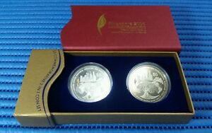 2006-Singapore-IMF-World-Bank-Group-5-Commemorative-2-IN-1-Coin-Set