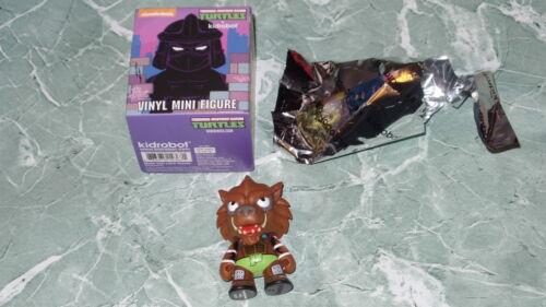 """Kidrobot Teenage Mutant Ninja Turtles Series 2 TMNT Shell Shock Rahzar 3/"""" Vinyl"""