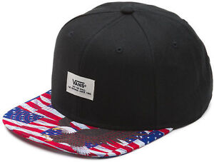 0cb119878d Vans WALMER - Mens Snapback Hat (NEW) Free Bird AMERICANA Eagle USA ...