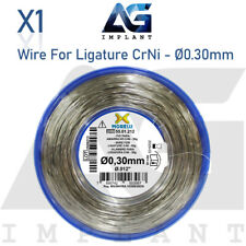 030mm Wire For Ligature Crni Stainless Steel Roll Spool 50g Orthodontic Dental
