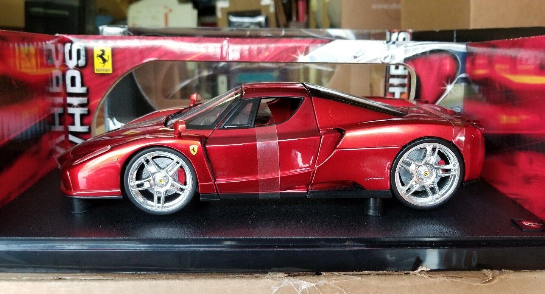1 18 Hot Wheels Whips Ferrari Red NIB