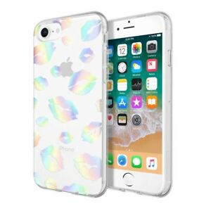 Incipio Apple iPhone 8 Design Series Case - Holographic Kisses IPH-1553-KISS