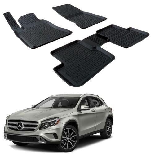 Scoutt 3D Gummifußmatten Gummimatten hohes Rand Mercedes GLA-Klasse X156 ab 2014