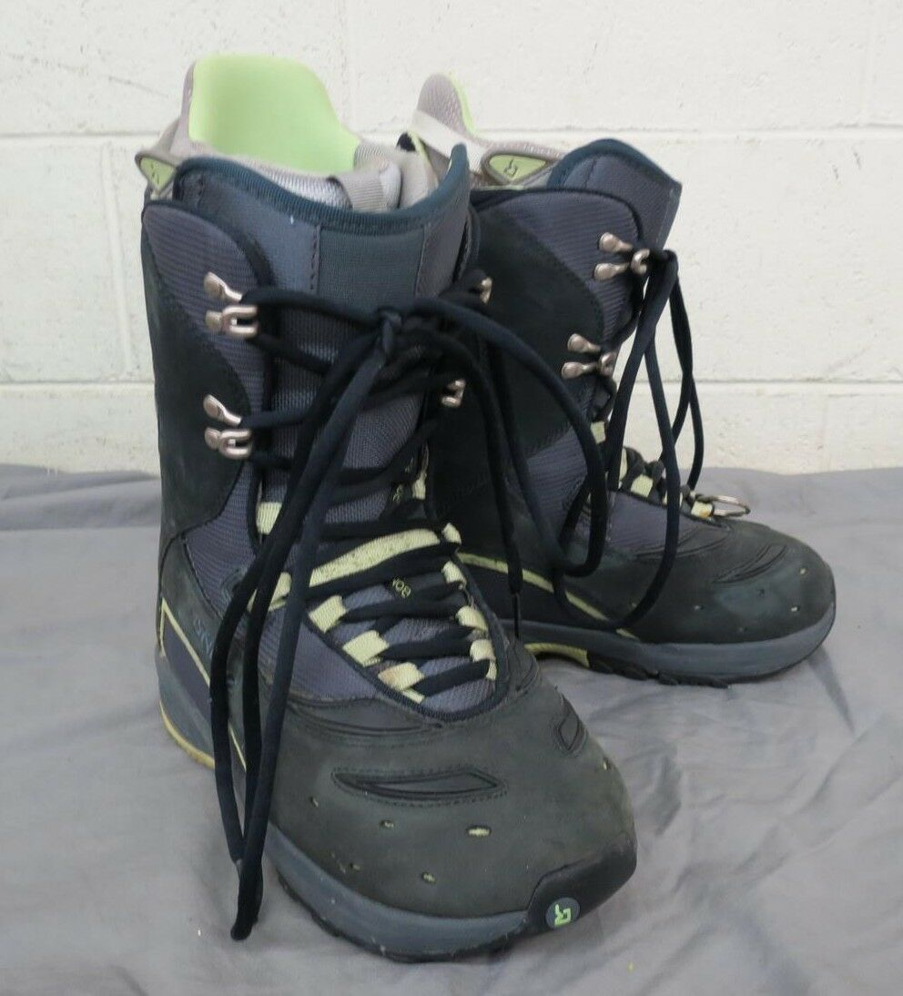 Burton Sable High-Quality Blau Leather Snowboarding Stiefel US 7 EU 38 GREAT LOOK