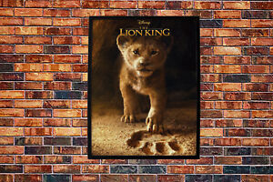 The Lion King 2019 Movie Poster Wall Art Maxi Disney Prints New Film