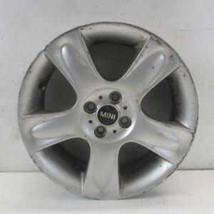 "BMW Mini Cooper 1 R50 R52 R53 Silver Wheel Alloy Rim 17/"" 7J ET:48 5-Star 91"