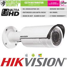 HIKVISION DS-2CD2642FWD-IZS 4MP 2.8-12mm MOTORIZED AUTO ZOOM IR IP CCTV Camera