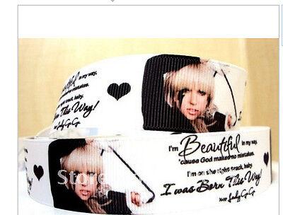 Lady Gaga ribbon 1m long