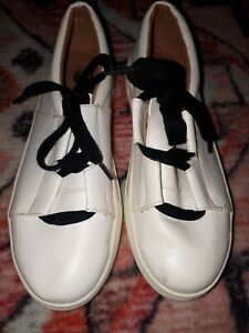 black TRAINERS CASUAL SHOES UK 5 EUR 38