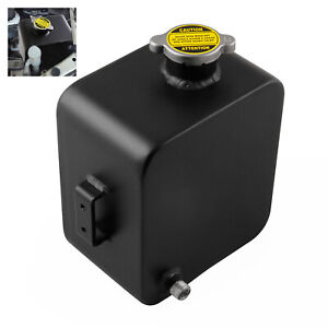 Universal Aluminium Alloy 2.5L Coolant Water Expansion Tank Bottle Polished
