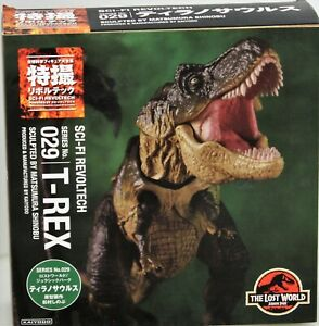 Jurassic Park Figurine d'action super bien ajustable Revoltech Scifi Tyrannosaurus Rex