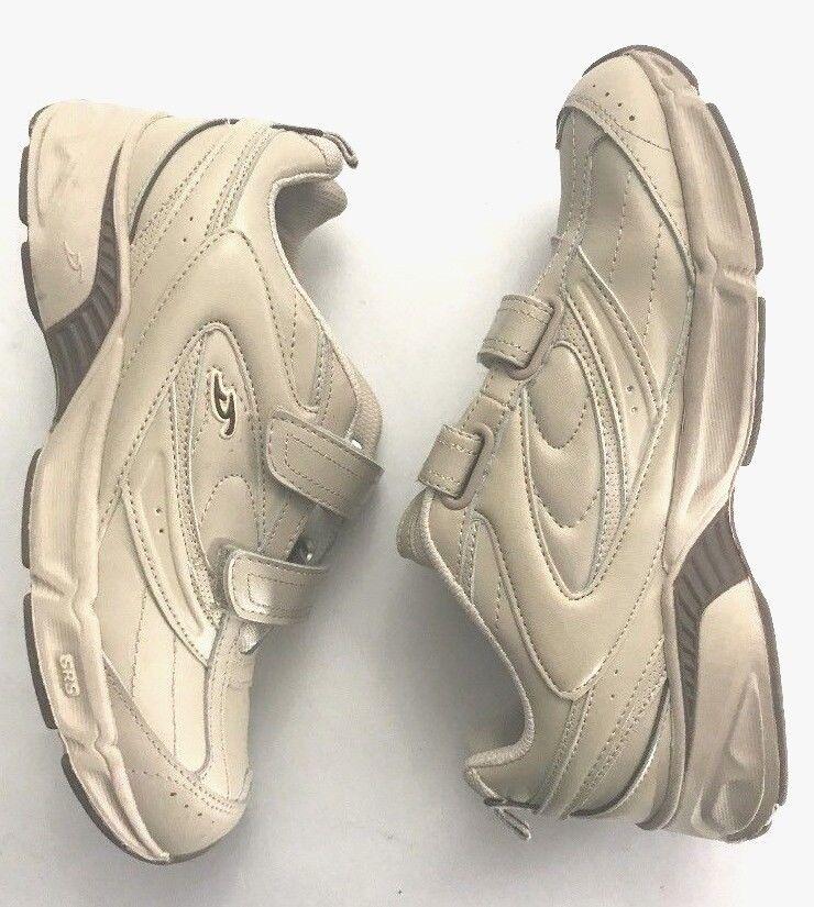 Dr Scholls Womens Size 8.5 Beige Tan Walking Toning Tennis Sneakers shoes