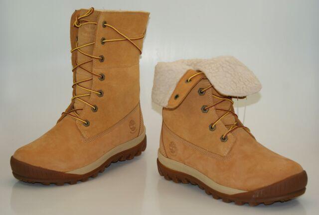 Timberland Woodhaven Roll down Waterproof Winter Boots Women's 8745B