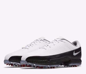 Nike Air Zoom Ancho ataque para Hombre Zapatos De Golf Ancho Zoom Blanco Negro ecfaef