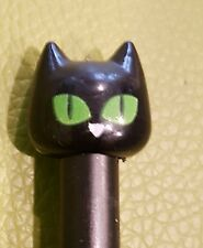 LUCK Black Cat Liquid Black Ink Cute Kitty Cat Pen UK SELLER