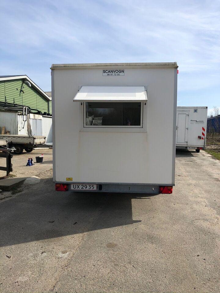Trailer, Scanvogn 420, lastevne (kg): 500