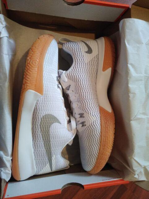 bbd8fe06dbc Men s Nike Zoom Live II Basketball Shoes White silver Ah7566 100 ...