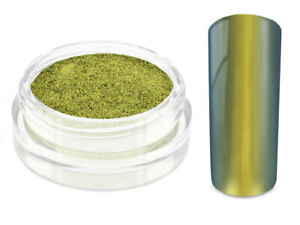 Nailart Mirror Chrome Flip Flop Puder sunlight Nagel Pulver Pigment Effekt Gel