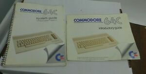 1986-Original-Commodore-64C-Computer-Manuals-System-Guide-Learning-to-Program