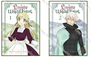 Liselotte and Witch's Forest ( Vol. 1 - 5 ) English Manga Graphic Novels New