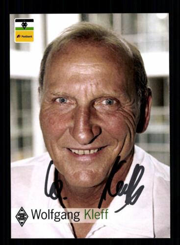 A 177281 Wolfagng Kleff Autogrammkarte DFB Weltmeister 1974 Original Signiert