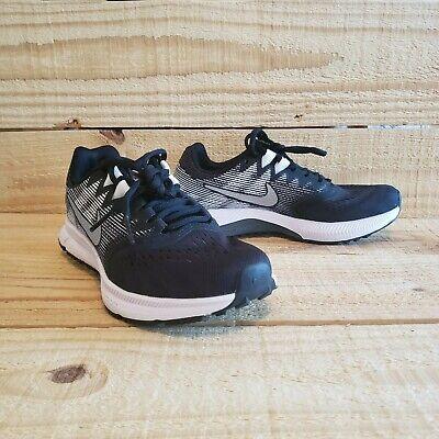Nike Air Zoom Span 2 Women's Trail Running Shoe Black Metallic Silver  909007-001 | eBay