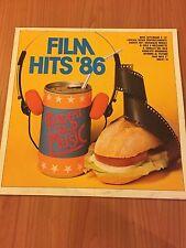 LP FILM HITS '86 FONIT CETRA LPX 158 EX/EX+ ITALY PS 1986 RAI