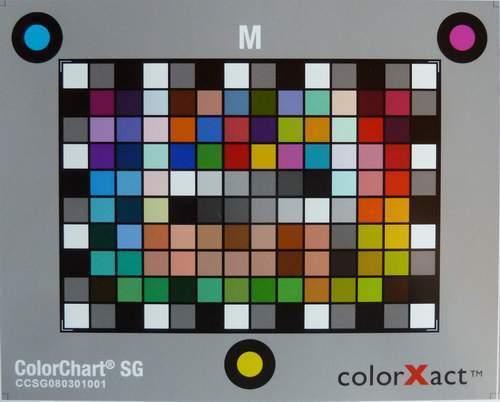 VSACURVATURETYPE cxact Chart farbreferenzkarte colormanagement tabla de colores cámara digital