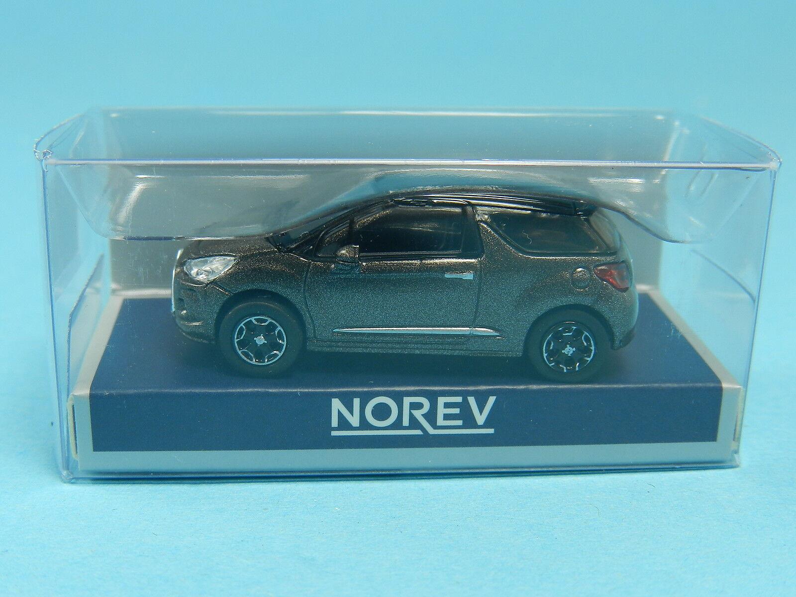 1//87 Norev Citroen DS 3 blaumetallic 155294