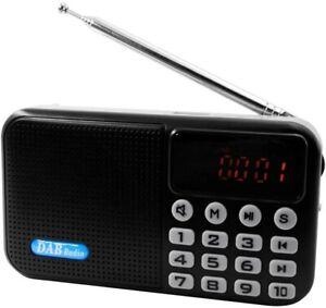 Docooler Dab-P8 Mini Dab/Dab + Radio Digitale Portatile -  Lettore Musicale MP3