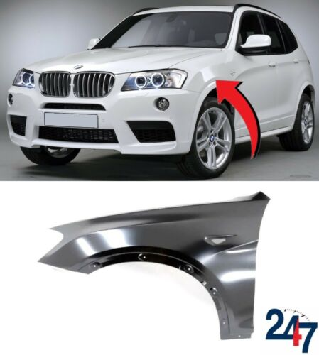 NEW BMW X3 SERIES F25 2010-2014 FRONT WING FENDER LEFT N//S 7267323