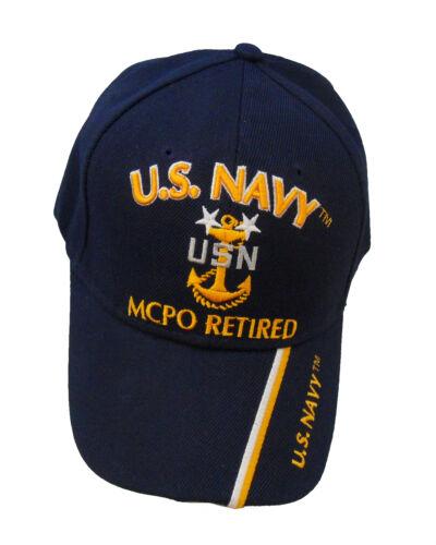 Licensed US Navy MCPO Retired Cap 388-NBL