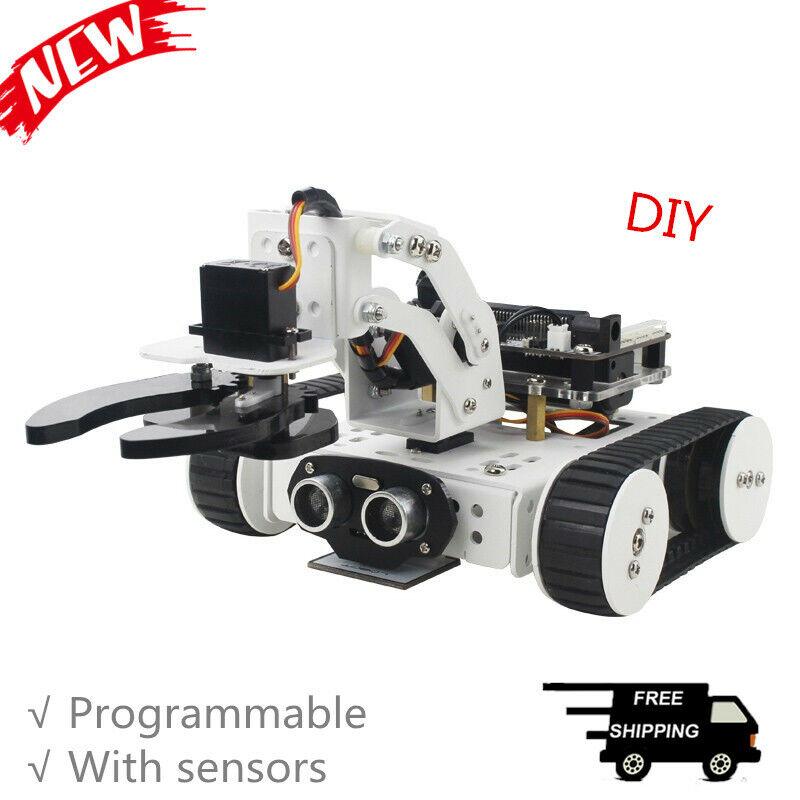 4-in-1 Qtruck programmerbar Robotkit Oförändrad stödhanteringComment