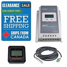 EPsolar Tracer 2210A MPPT Charge Controller SHIPS FROM CANADA! NO IMPORT FEES!
