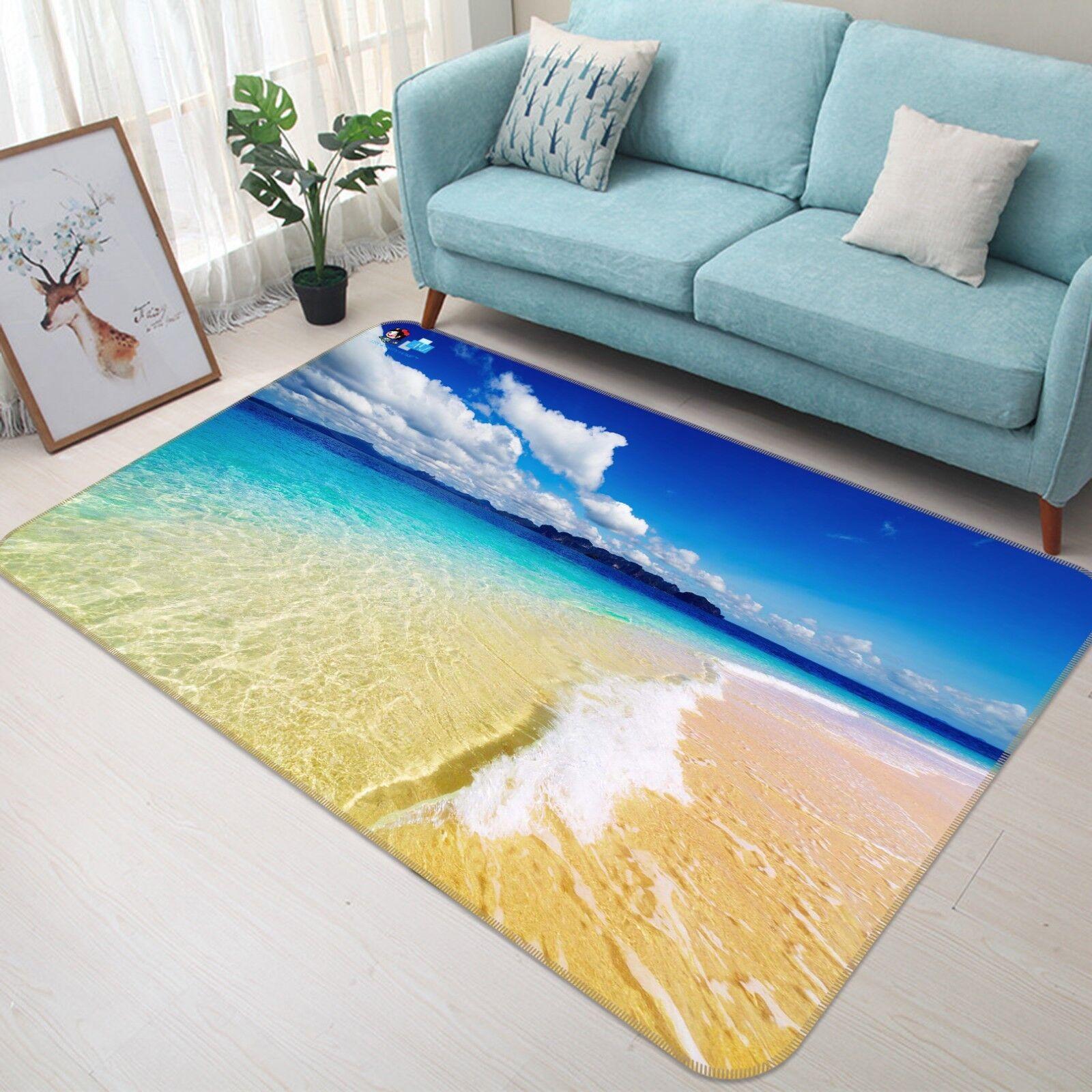 3d hermoso mar antideslizante alfombra de maletero calidad elegante alfombra de