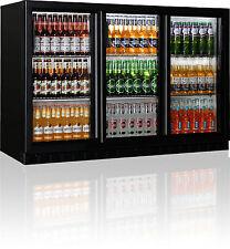 Vetrina refrigerata  frigo banco bar 01porte a scorrere 3 sportelli bar 01