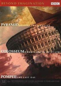 Beyond-Imagination-Colosseum-Pompeii-Pyramid-DVD-BBC-Region-Four-R4-FastNFree