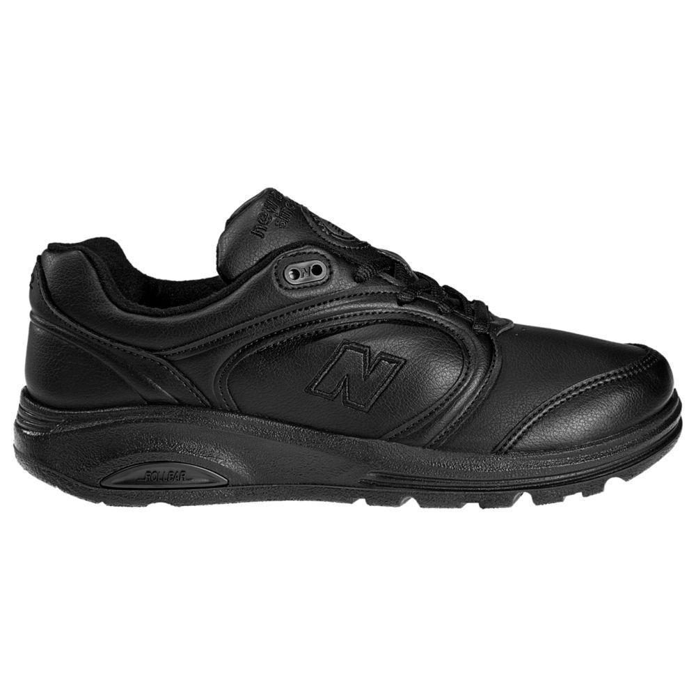 Womens $105 NEW BALANCE 812 Walking Shoe Stabilizing Rollbar BLACK 12 4E Wide