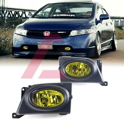 Koolzap For 06-08 Civic Coupe Taillight Taillamp Brake Light Lamp Left /& Right Side Set PAIR