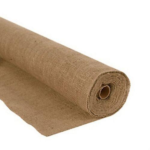 """60/"""" Wide Burlap Roll 10oz 5 Yard Length"""