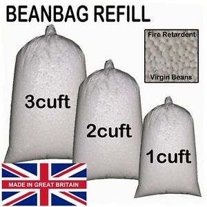 Awe Inspiring Details About Bean Bag Booster Refill Polystyrene Beads Filling Top Up Bag Beans Balls Gilda Gmtry Best Dining Table And Chair Ideas Images Gmtryco