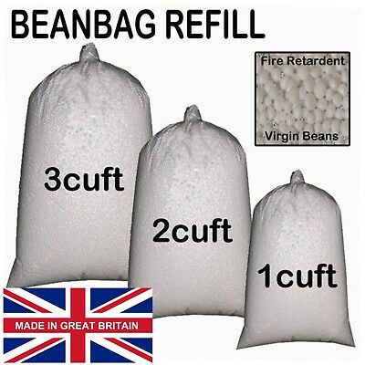 Bean Bag Booster Refill Polystyrene Beads Filling Top Up