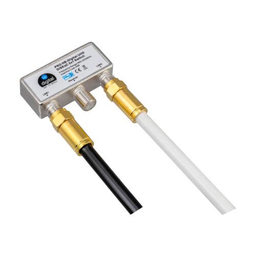 135dB 5-fach VollKupfer 4m Satelliten Anschluss Antennen Koaxial Kabel Ultra UHD