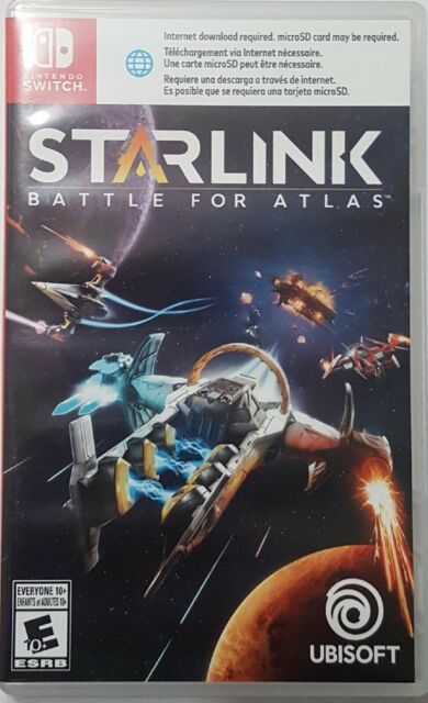 Starlink: Battle for Atlas (Nintendo Switch, 2018) USED GREAT CONDITION
